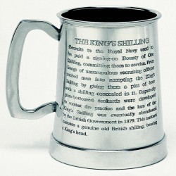 REPLICA TAZA SIGLO XVIII ROYAL NAVY