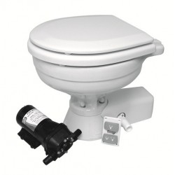 QUIET FLUSH COMPACT TOILET...
