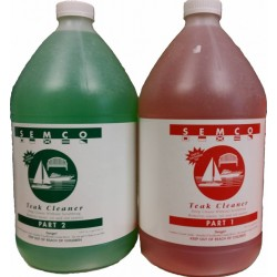 TEAK CLEANER 1/4 GALLON -...
