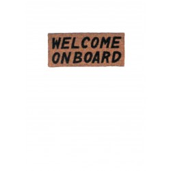 """CARPET """"WELCOME ON BOARD""""..."""