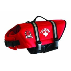 DOGGY LIFEJACKET RED...