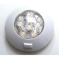 6 LEDS WHITE LAMP WITH...